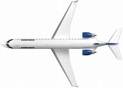 Airplane Aircraft Crj Bombardier Commercial Nicepng Transparent