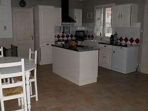 Vente Ilot Central Cuisine : laurence photo 3 3 cuisine avec ilot central ~ Premium-room.com Idées de Décoration