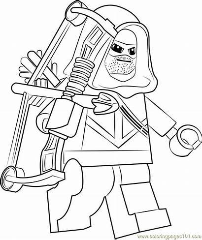 Arrow Coloring Lego Pages Coloringpages101 Pdf