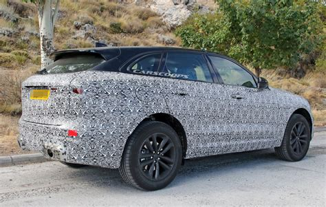 jaguar  pace facelift spotted    time