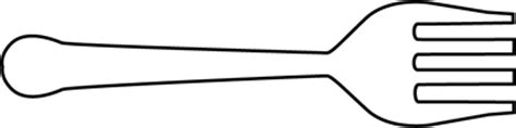fork clipart black and white black and white horizontal fork clip black and white