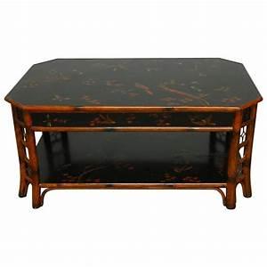 Theodore alexander indochine bamboo coffee table at 1stdibs for Theodore alexander coffee table