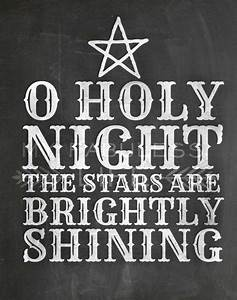 chalkboard printable o holy night 750 via my fabuless With o holy night lettering