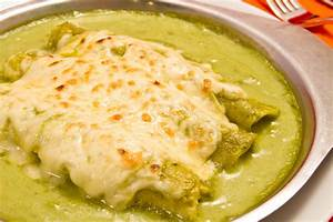 Enchiladas Verdes Recipe — Dishmaps
