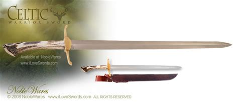 Celtic Warrior Sword by Silver Stag