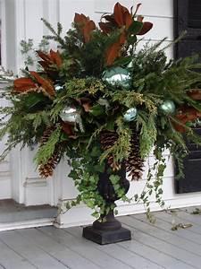 Gorgeous, Christmas, Urns
