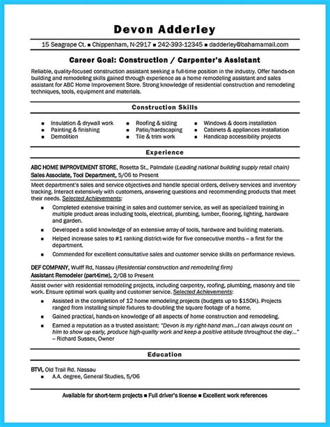 9 best things images on sle resume