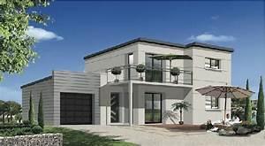 photo facade de maison contemporaine With exemple de facade de maison