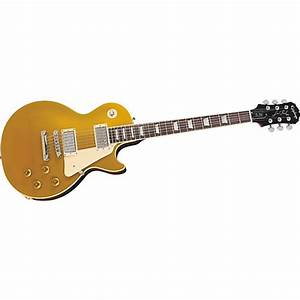 Epiphone Limited Edition Les Paul Standard Gold Top Electric Guitar