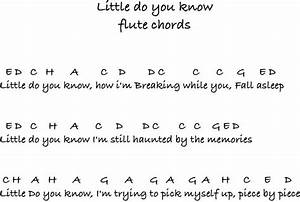 Piano Little Do You Know