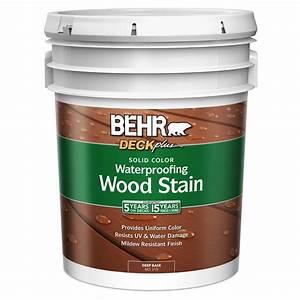 Behr Premium Plus 5 Gal Deckplus Deep Tint Base Solid