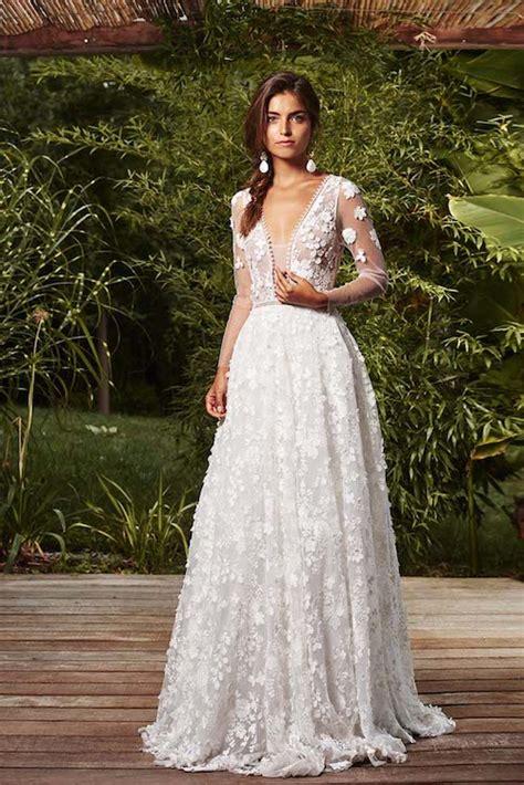 robes de mariee  manches longues pour se marier en