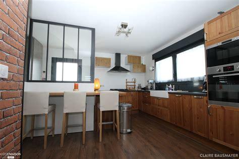 cuisine de loft ambiance loft sur reims bausmayer côté maison
