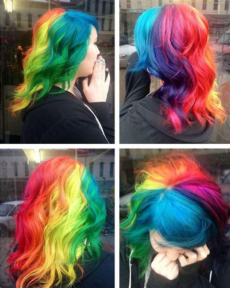 Dye Hair by Rainbow Hair Color Strayhair