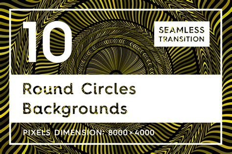 10 Round Circles Backgrounds Textures & Backgrounds