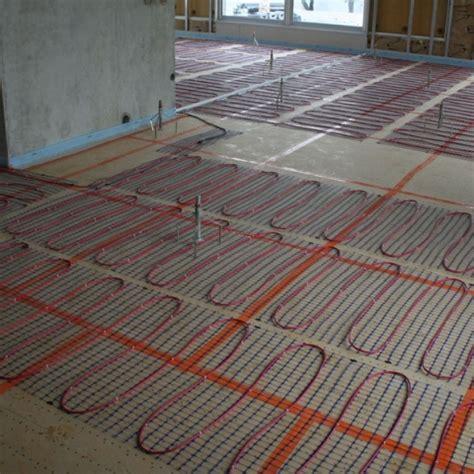 comment installer un chauffage au sol de conception de maison