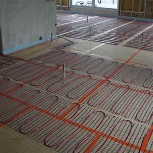 Chauffage Au Sol : chauffage lectrique au sol conseils en plancher et ~ Premium-room.com Idées de Décoration