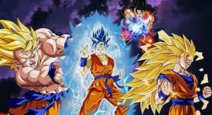 Goku EVOLUTION Wallpaper # 1 by WindyEchoes on DeviantArt