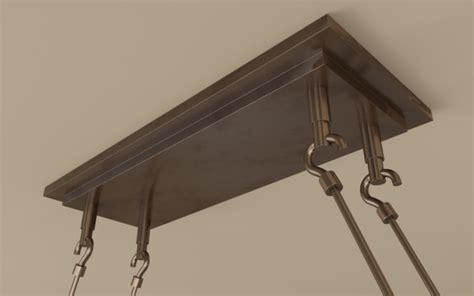 pillar candle rectangle chandelier l large 3d model max