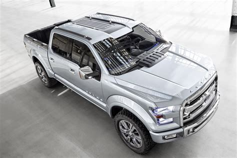 Ford Atlas Concept Unveiled, Previews Next F-150 [photo