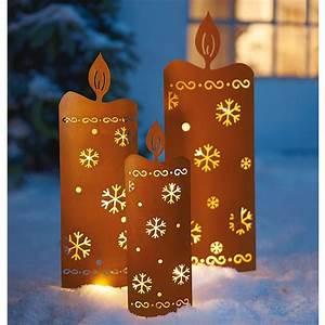 Led Kerzen Außen : led gartenstecker kerzen 3 tlg jetzt bei ~ A.2002-acura-tl-radio.info Haus und Dekorationen