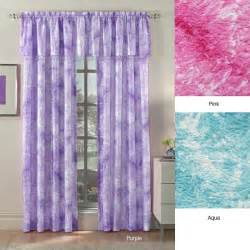 tie dye swirl 63 inch textured curtain panel pair free