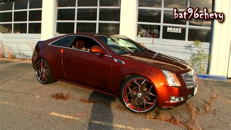Black Rims For Cadillac Cts by Cadillac Cts Coupe 2014 Black Rims Wallpaper 1920x1080
