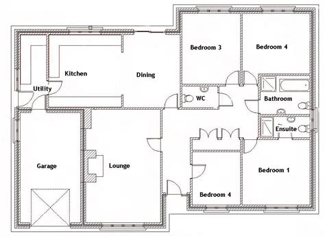 split bedroom house plans   sq ft  bedroom house