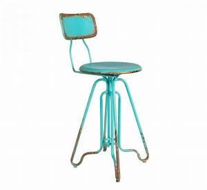Tabouret De Bar Retro : tabouret et chaise de bar industriel 27 id es d co ~ Teatrodelosmanantiales.com Idées de Décoration