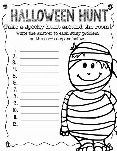 Grade Worksheets Halloween Math Worksheet Word 2nd