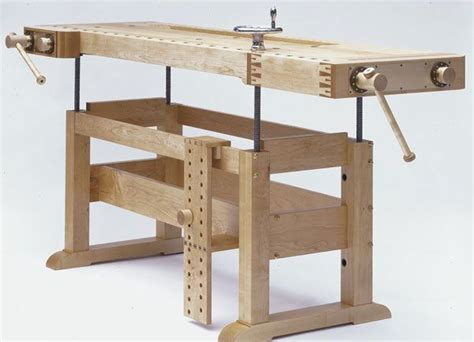 woodworking workbench height