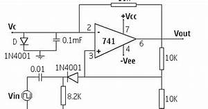 op amp based monostable multivibrator 741 my circuits 9 With opamp multivibrator