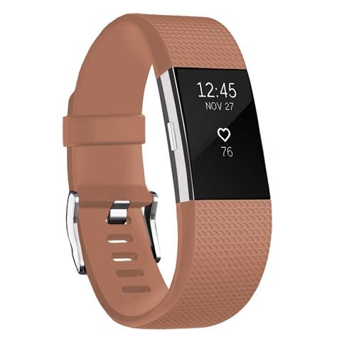 for fitbit charge 2 replacement silicone band rubber wristband bracelet ebay
