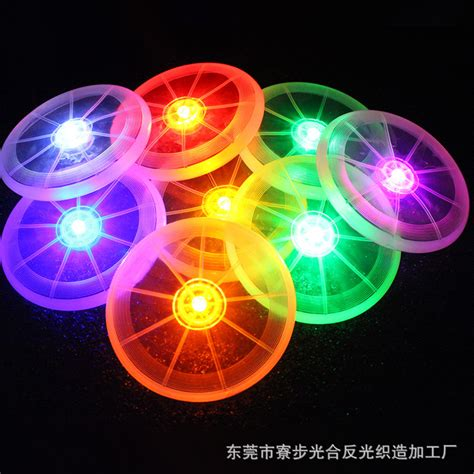 light up frisbee new led light up flying disk multi color frisbee outdoor