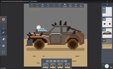 home page pixel art studio