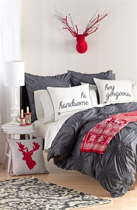tips    decorate  bedroom  christmas