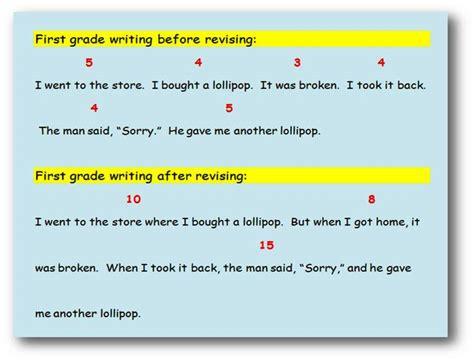 Revising Sentence Length  English Writing Teacher
