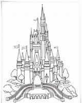 Castle Coloring Pages Sleeping Beauty Printable Getcolorings Colorings sketch template