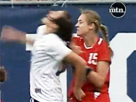 female soccer star attacking  players youtube