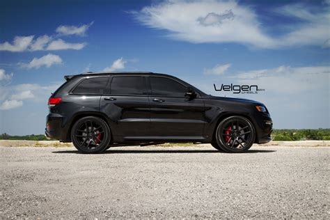 jeep cherokee black with black rims 22 quot velgen vmb5 black concave wheels rims fits jeep grand