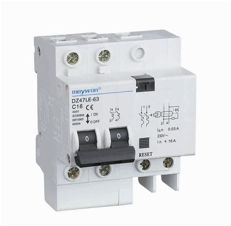 China Mini Circuit Breaker Dzle Electronic