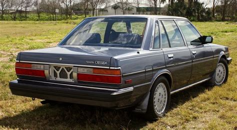 1985 Toyota Cressida by Kidney Anyone Unmolested 1985 Toyota Cressida Japanese