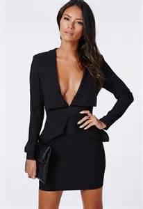 v neck black dress dress fa