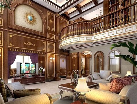 glamorous modern chinese house  great living room