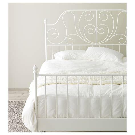 king size headboard ikea leirvik bed frame white l 246 nset 140x200 cm ikea