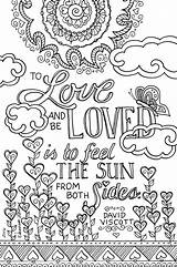 Coloring Books Pages Adults Colouring Adult Printable Inkwelldesigners Engraving Table Marriage Quotes Words Lo Quote Printables Trend Custom Stuff Loved sketch template
