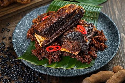 ide olahan daging sapi gepuk balungan khas tanah sunda ita bohai