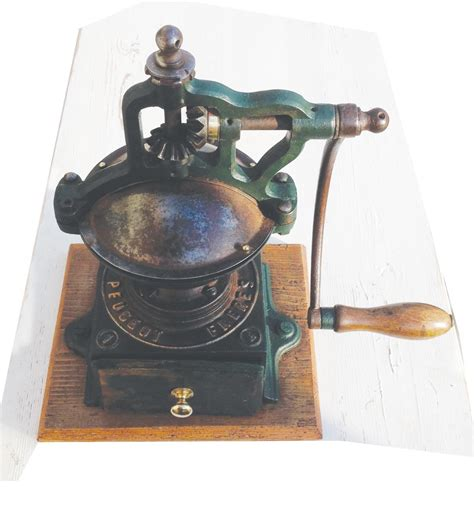 Peugeot Freres Coffee Grinder by Antique Peugeot Freres Coffee Grinder In The Antique Kitchen