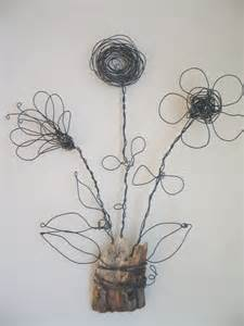 Wire Flower Sculpture