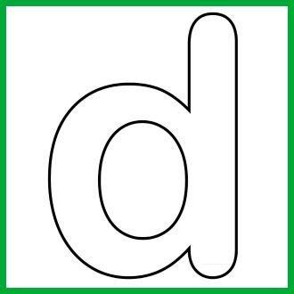 case alphabet letter  template  song print